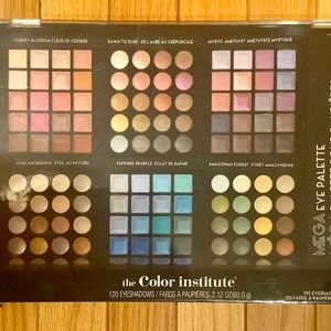 The Color Institute MEGA Eye Palette 120 Shadows
